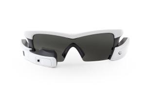 Recon Jet - White Frame - Meteor Gray Lens